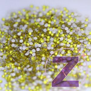 preciosa strasszkő ss2 méretben citrine színben