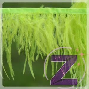toll ruhadekoráció rikító zöld színben