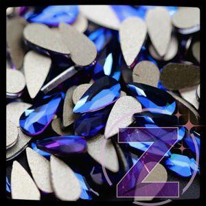 zodiac üveg cseppforma kék színben lila átmenettel