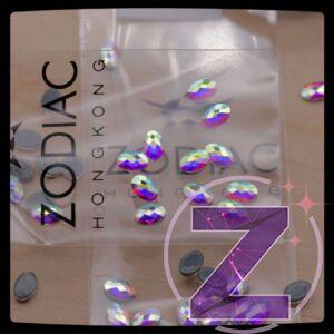 zodiac vasalható strasszkő chessboard ovális formában színjátszó színben