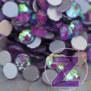 zodiac strasszkő ss20 méretben glossy grape színben