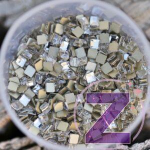strassz formakő crystal színű négyzet