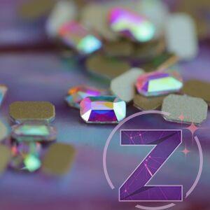 zodiac üveg forma pici hasáb alakban színjátszó színben