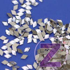 zodiac üveg rombusz forma crystal színben
