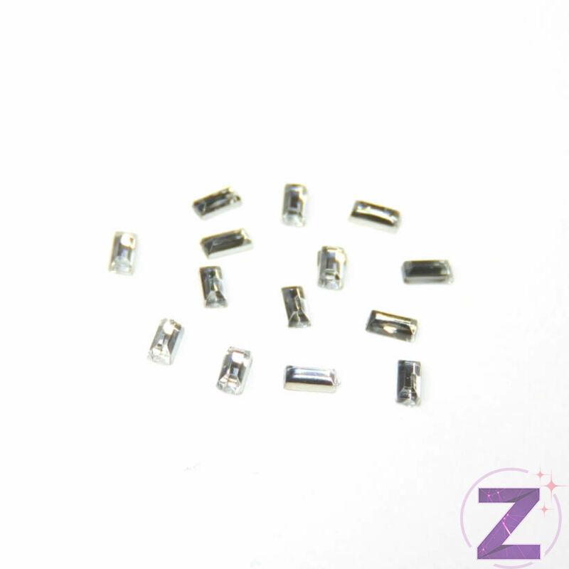 Mini akril forma - AK02 - Crystal hasáb (100 db)