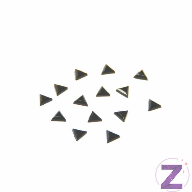 Mini akril forma - AK08 - Fekete háromszög (100 db)