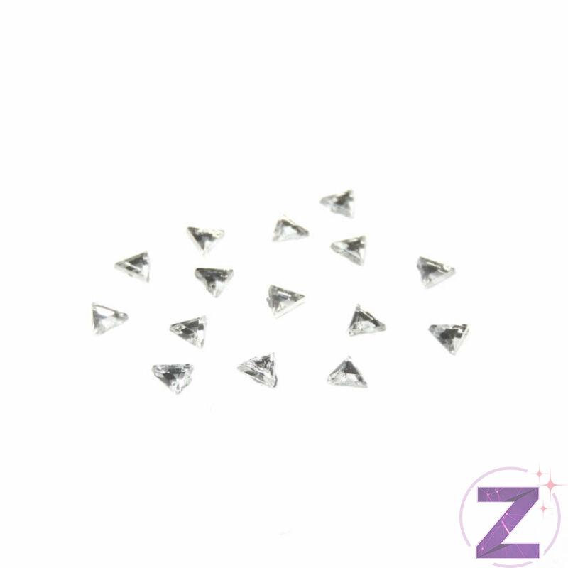 Mini akril forma - AK10 - Crystal háromszög (100 db)