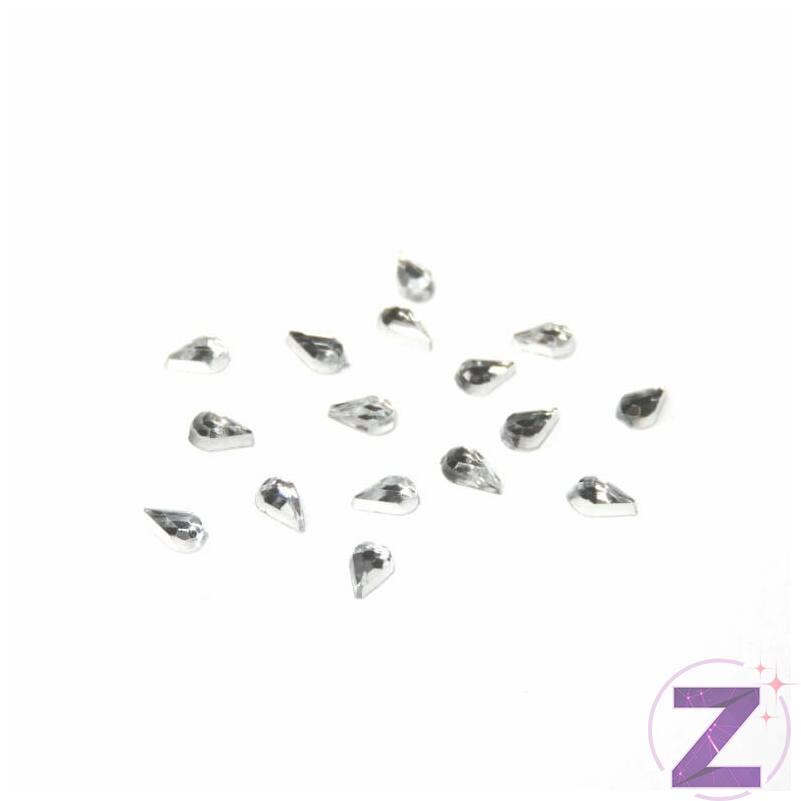 Mini akril forma - AK12 - Crystal cseppforma (100 db)