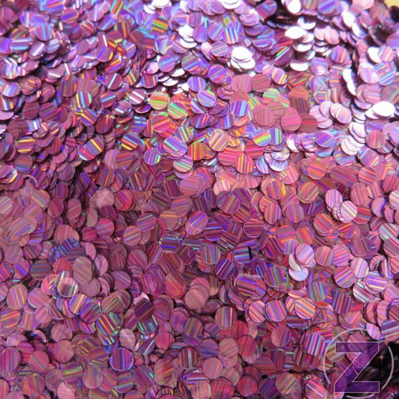 körömdíszítő flitter pink hologrammos