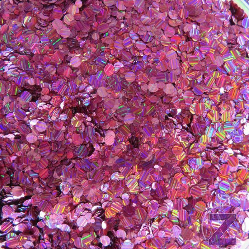 körömdíszítő flitter rózsaszín színjátszó színben, csíkozott