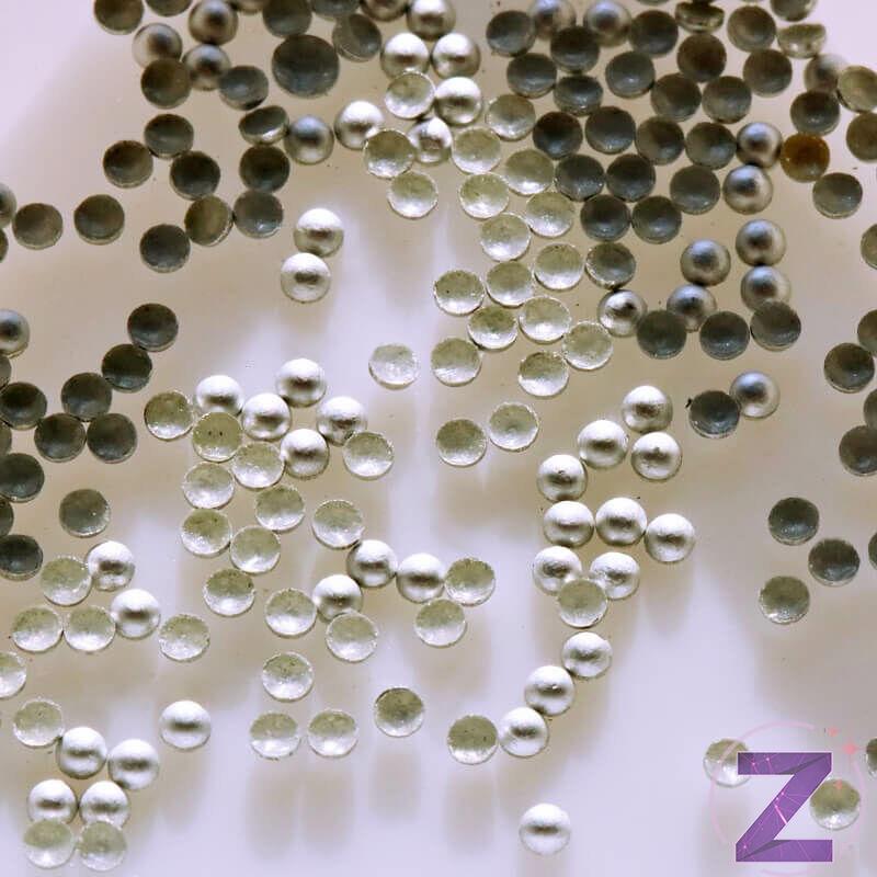 Mini szegecs ezüst matt