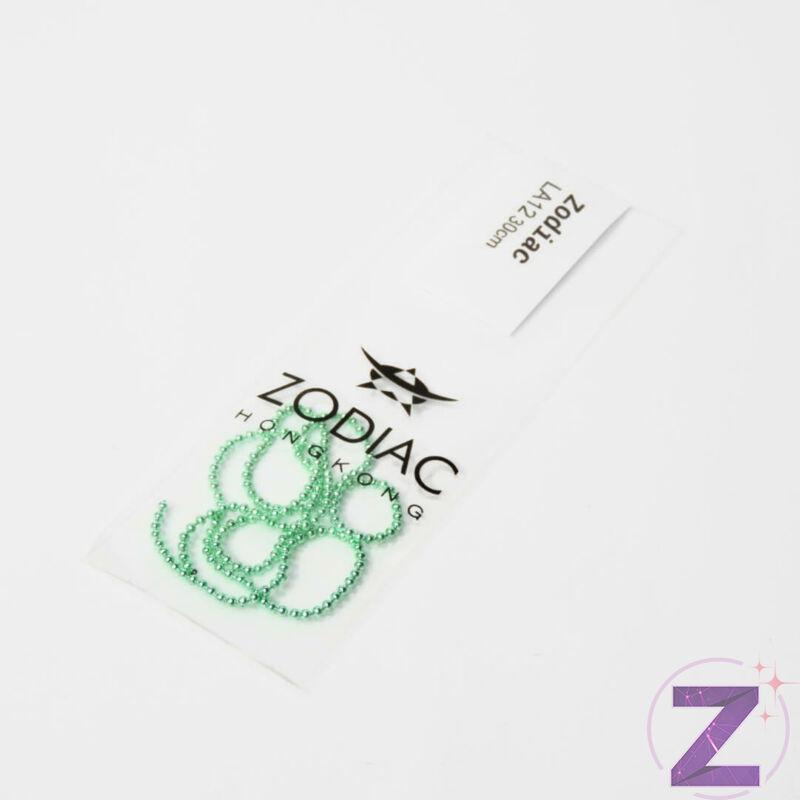 Lánc - LA12 - Halvány zöld 30 cm