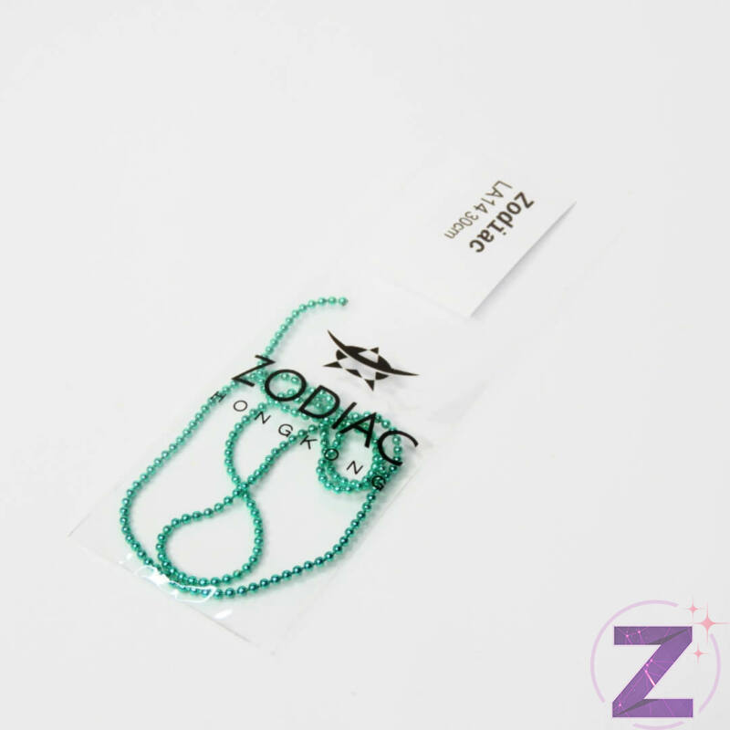 Lánc - LA14 - Zöld 30 cm