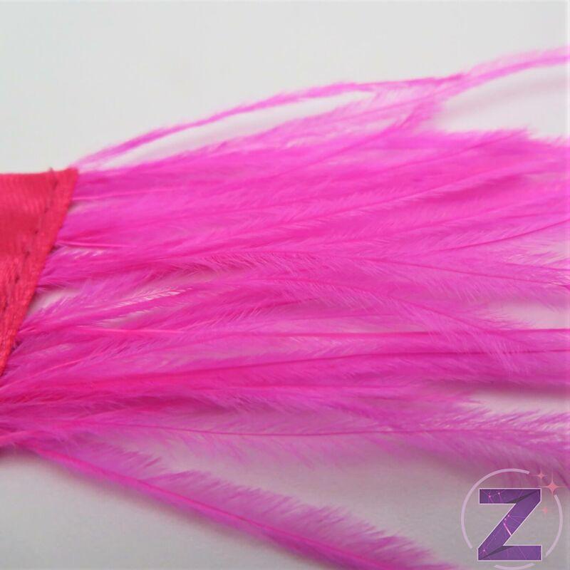 Toll dekoráció pink