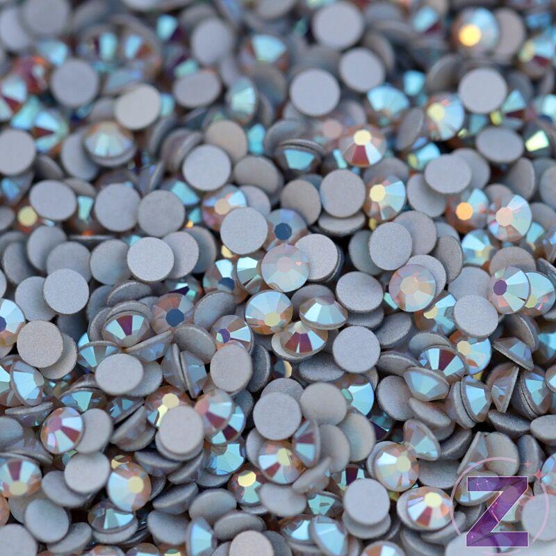 preciosa strasszkő ss9 méretben white opal ab színben