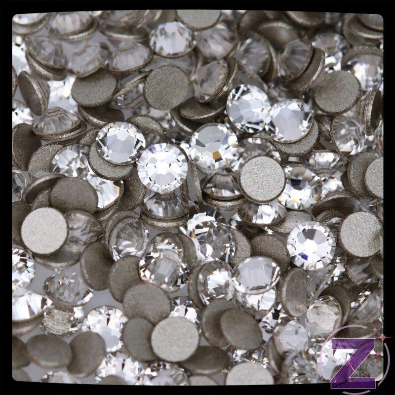 swarovski strasszkő ss3 méretben crystal színben