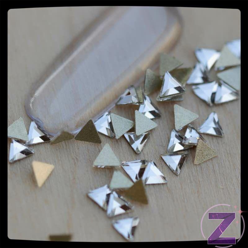 zodiac üveg forma crystal színű háromszög
