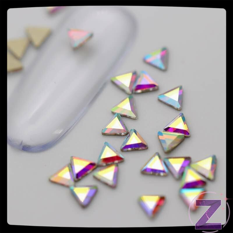 zodiac üveg forma színjátszó háromszög