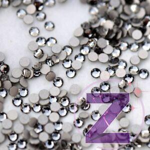 preciosa strasszkő ss3 méretben black diamond színben