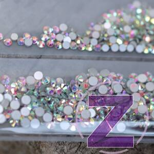 budget selection egy csomagban több méretű crystal ab strasszkő