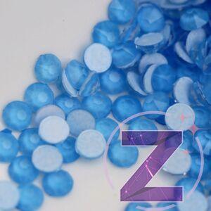 zodiac strasszkő ss16 méretben neon blue színben