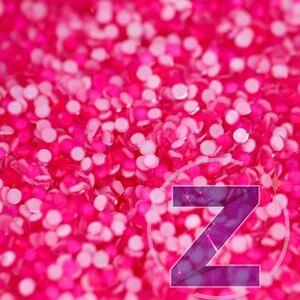 zodiac strasszkő ss6 méretben neon pink színben