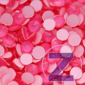 zodiac strasszkő ss16 méretben neon pink színben