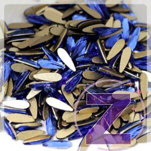 csepp alakú formakő sapphire színben