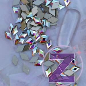 strassz formakő rombusz színjátszó színben