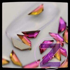 strassz formakő többszínű trapéz