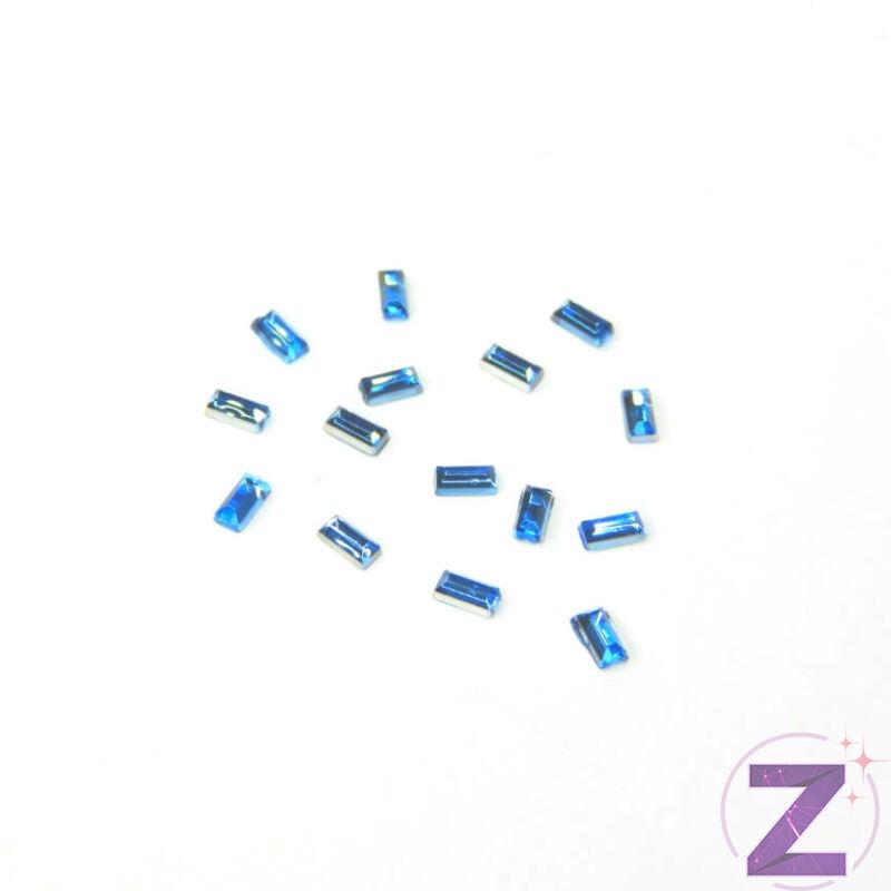 Mini akril forma - AK01 - Világoskék hasáb (100 db)