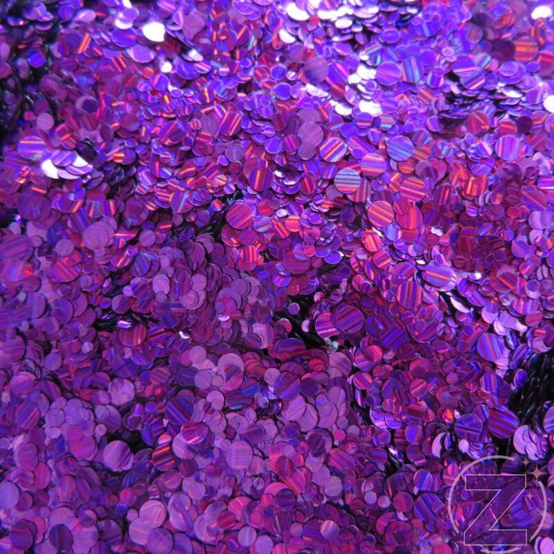 körömdíszítő flitter lila színjátszó színben, csíkozott