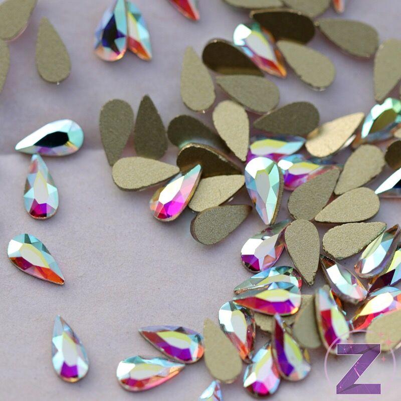 csepp alakú formakő crystal ab színben