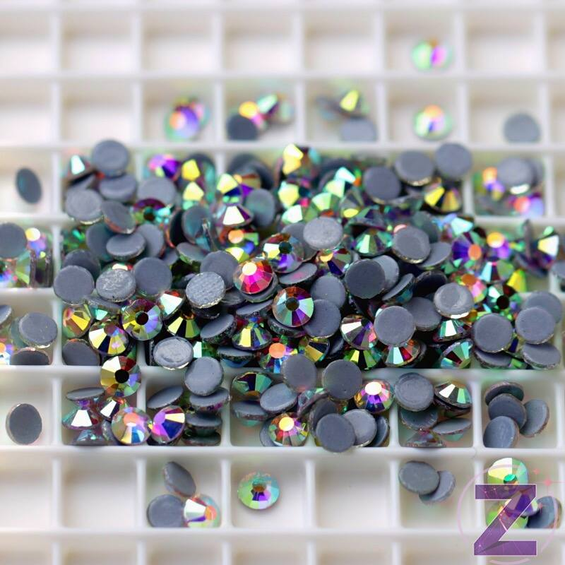 vasalható strasszkő ss12 méretben crystal AB színben