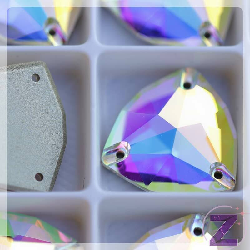 varrható üveg kristály crystal ab színben