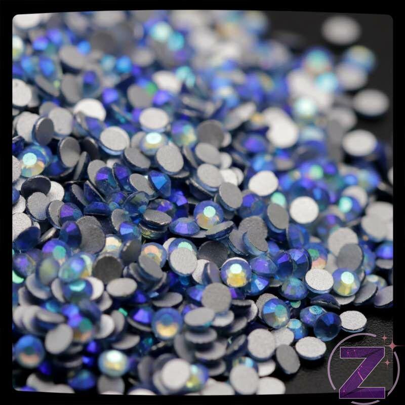 zodiac strasszkő ss3 méretben light sapphire ab színben