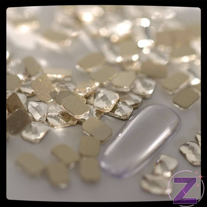 strassz formakő crystal téglatest