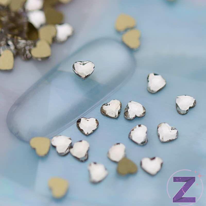 strassz fomakő crystal szív